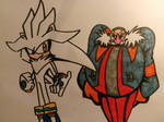 the future Hedgehog and the future Egg by JulianIvoRobotnik