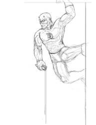 Daredevil Line Art by slayslig