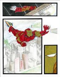 Iron Man Commission by slayslig