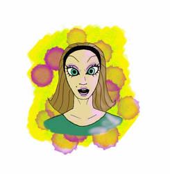 Green-Eyed Beauty by slayslig