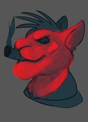 Digital Painting WIP by Cookiedough-Gecko
