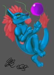 Digital Dragon Painting by Cookiedough-Gecko