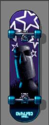 Star Moai Skateboard by thUg-inc