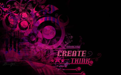 Imagine-Create-Think by DivineWish
