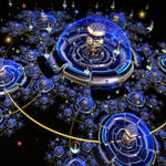 Luxurious Space Colony by Aexion