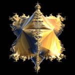 Octahedral Mandelbrot by Aexion