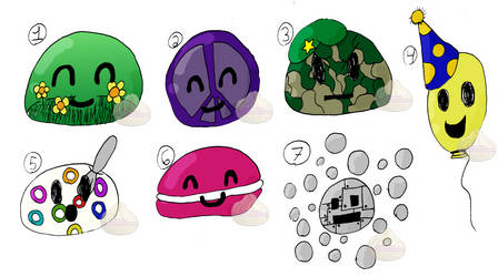 Blob Adopts! OTA- 6/7 OPEN by MiniBaozi