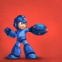 Megaman by antonio-panderas