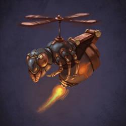 Killer BeeBot by antonio-panderas