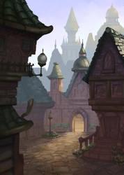 Wizard Town by antonio-panderas