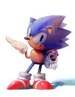 Sonic Doodle by Hide0ut