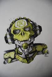 techno skull by khor11