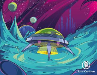 Space Ship by samii69