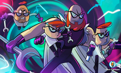 Dexter's Laboratory by samii69