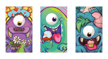 Monsters by samii69