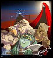 Thundercats Villains by allanced