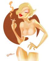 Marilyn Monroe by allanced