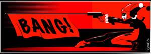 Harley Quinn BANG by allanced