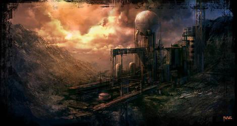 Industrial area 2 by moonworker1