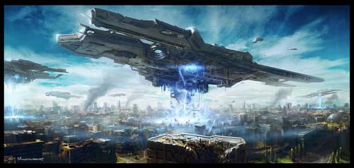 Invasion by moonworker1