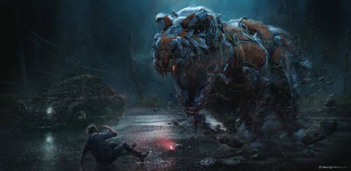 Big teeth by moonworker1