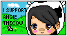 Support stamp (new) by Angiethecow
