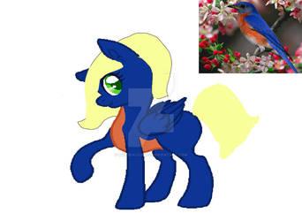 my bird pony! by Spiritstar12