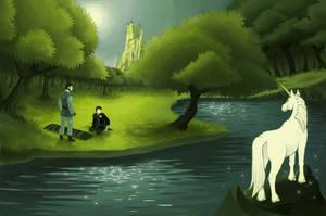 Amber - The Grove of the Unicorn by Eldarianne