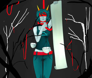 I have never drawn terezi before by bountifulSpyware