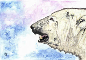 Morning Breath - Watercolor by HonestAnxiety