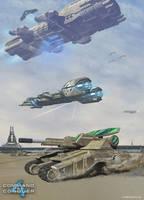 GDI Forces by HeavyMetalDesigner