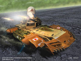 GDI AA Hovercraft concept by HeavyMetalDesigner