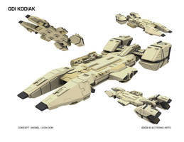 GDI Kodiak_WIP by HeavyMetalDesigner