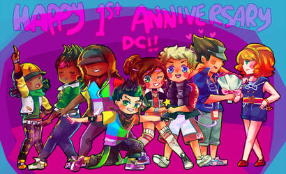 Dance Central: happy anniversary dc3! by moondazzle
