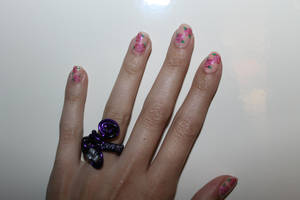 Floral Nails by lpevris