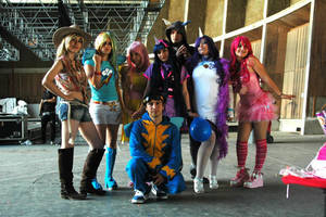 mlp cosplay by juneusui