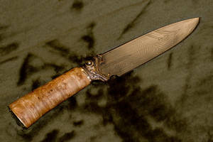 Damascus blade by Ugrik