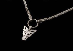 Fenrir wolf necklace by Ugrik