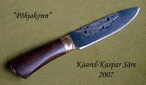 'Pohjakonn' knife by Ugrik