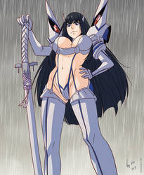 Kill la Kill: Satsuki by Shunkaku