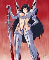 Kill la Kill: Satsuki (Blood Rain) by Shunkaku