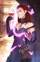 GW2: Countess Anise - Queen of Cups by Shunkaku