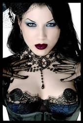 Morgana Black Hair by DaveAyerstDavies
