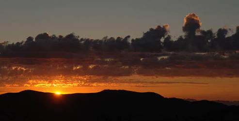 Desert Sunrise by DaveAyerstDavies