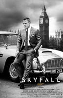 Skyfall IMAX Print Theatrical Poster by DanielCraig1
