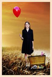 Red Balloon by emmysdaddy