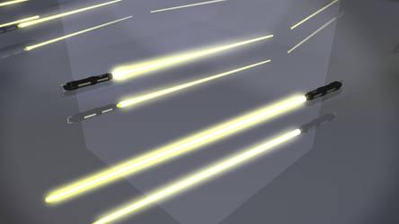 SplicerMaster's Lightsaber On by xgothshadowx