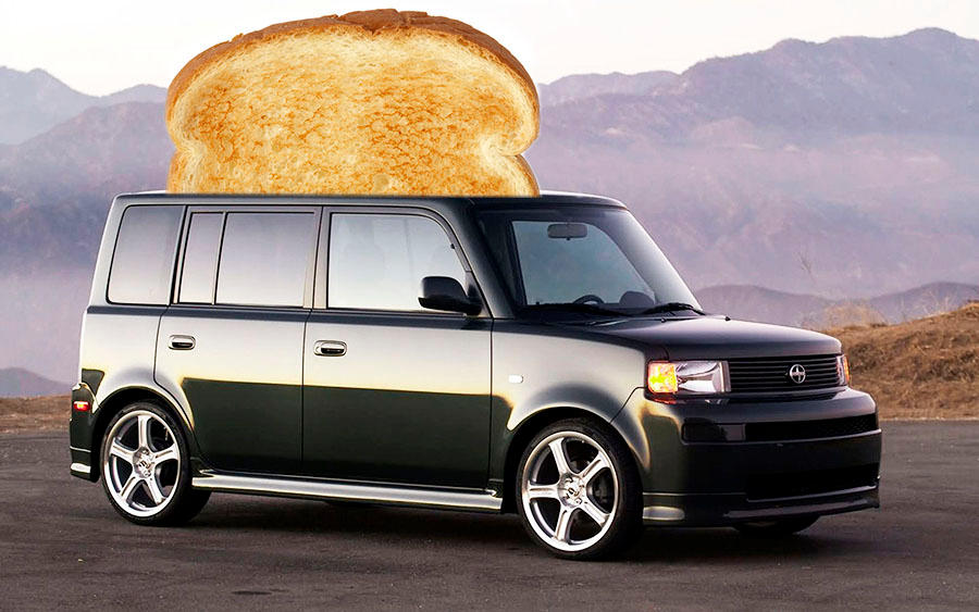 Toaster Car By Chillbebop