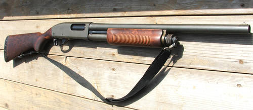 Remington 870 Police Magnum by ChillBebop
