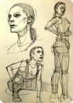 Sabrina sketches by DavidPatel
